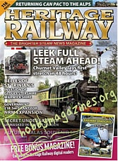 Heritage Railway - October 25-November 21, 2019