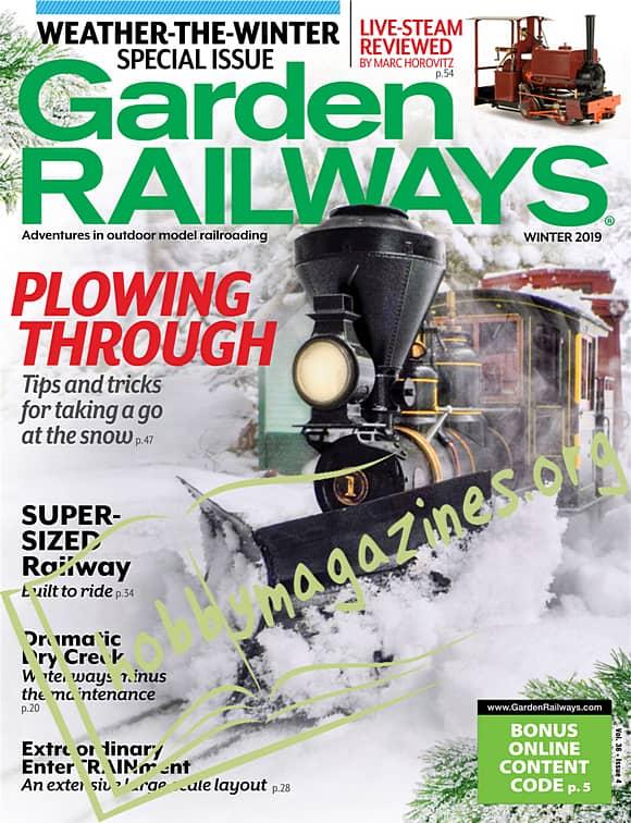Garden Railways - Winter 2019