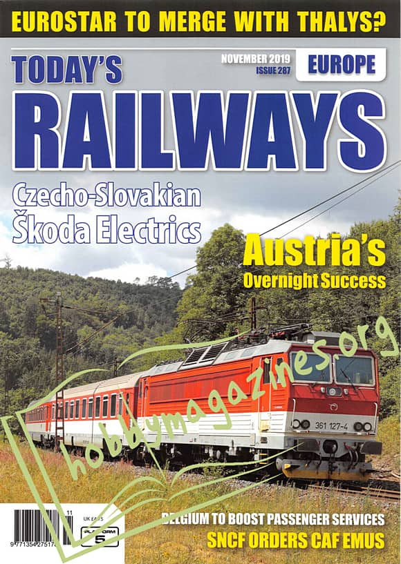 Today's Railways Europe - November 2019
