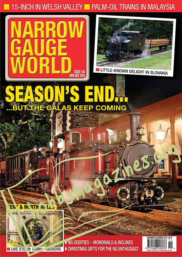 Narrow Gauge World - November/December 2019