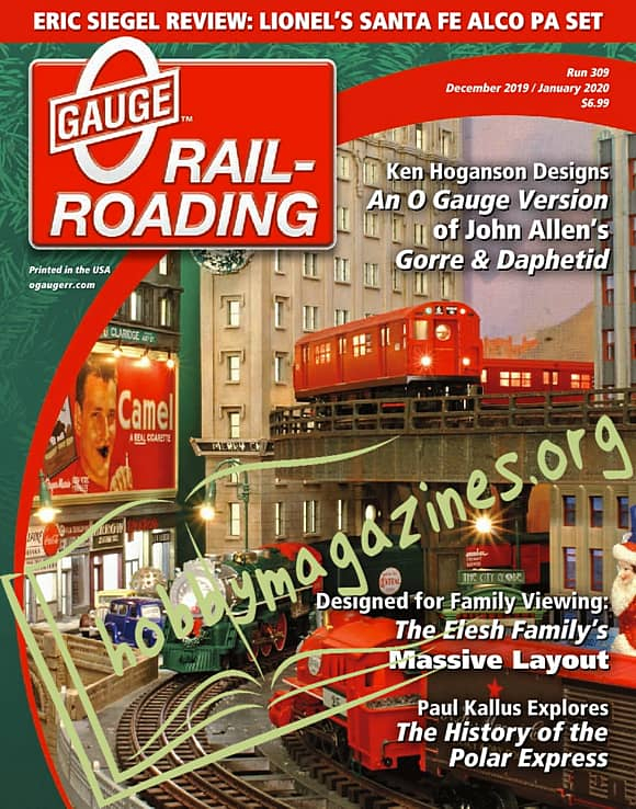 0 Gauge Railroading - December/January 2020
