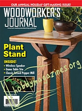 Woodworker's Journal - December 2019