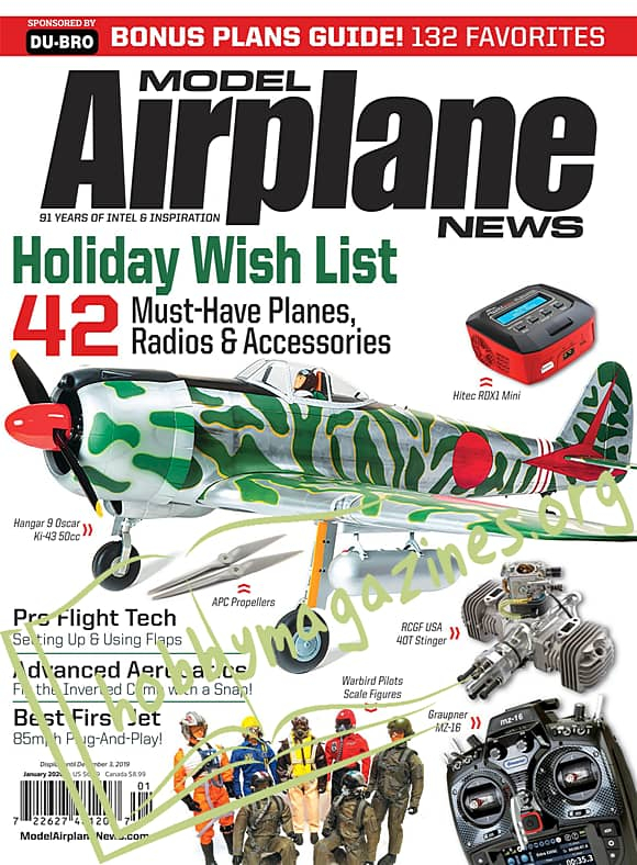 Model Airplane News – January 2020