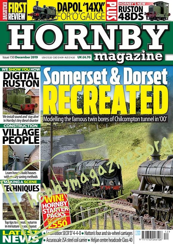 Hornby Magazine  - December 2019
