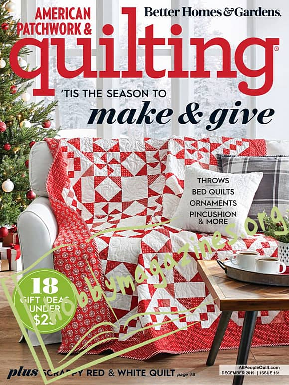 American Patchwork & Quilting - December 2019