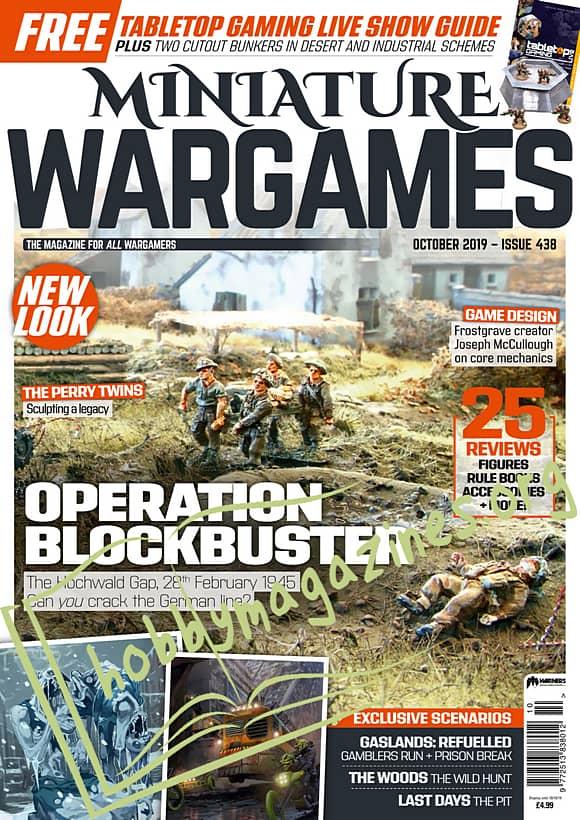 Miniature Wargames - October 2019