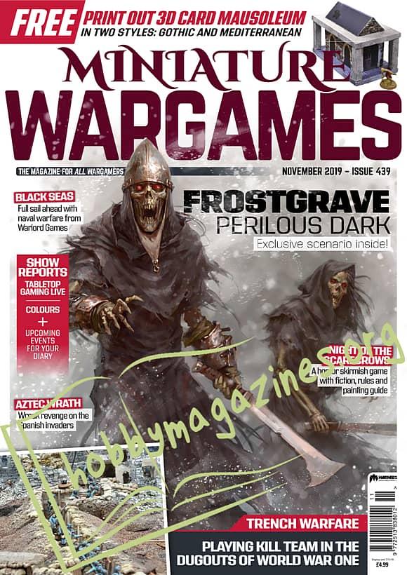 Miniature Wargames - November 2019