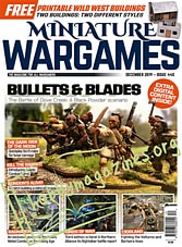 Miniature Wargames - December 2019