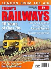 Today's Railways UK - December 2019