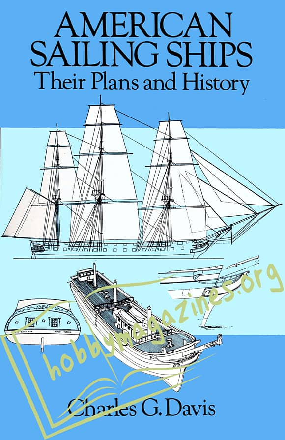American Sailing Ships.Their Plans and History
