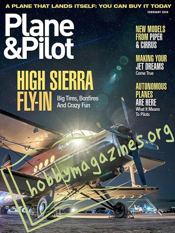 Plane & Pilot - February 2020