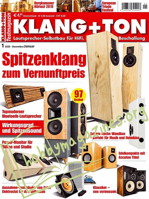 Klang+Ton - Dezember/Januar 2020