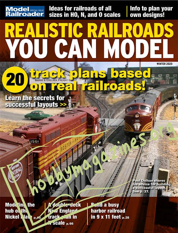 Model Railroader Special - Realistic Railroads You Can Model - Winter 2020