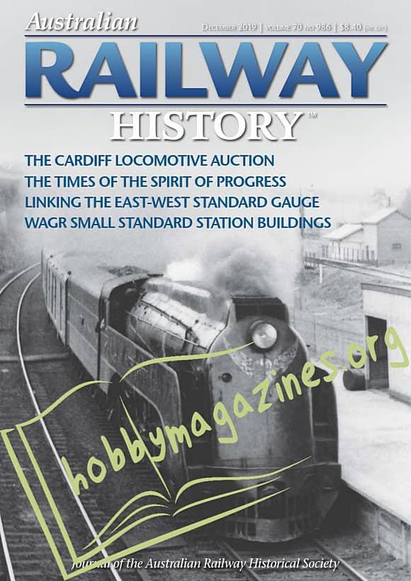Australian Railway History - December 2019