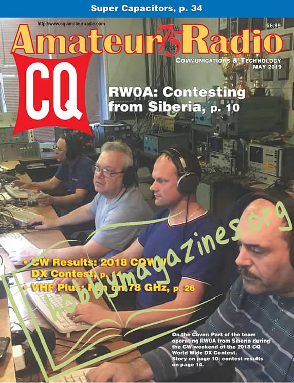 CQ Amateur Radio - May 2019