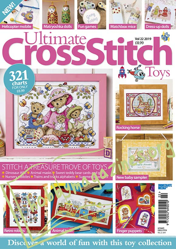 Ultimate Cross Stitch Volume 22 - Toys