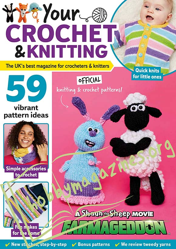 Your Crochet & Knitting Issue 14