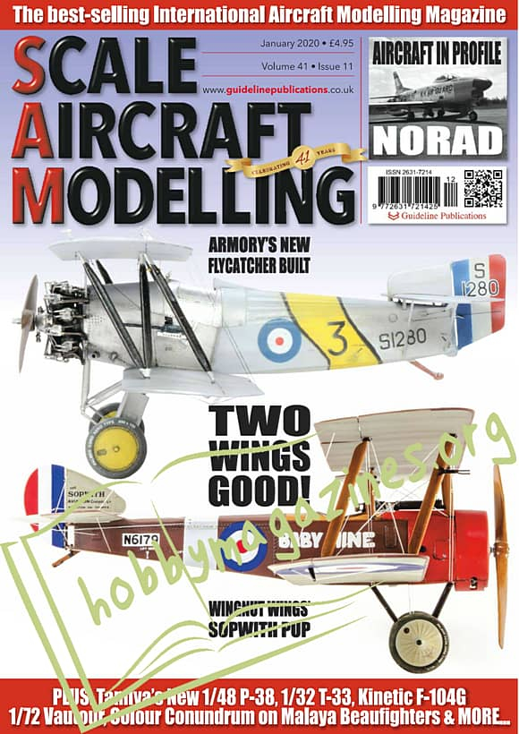 Scale Aircraft Modelling - January 2020
