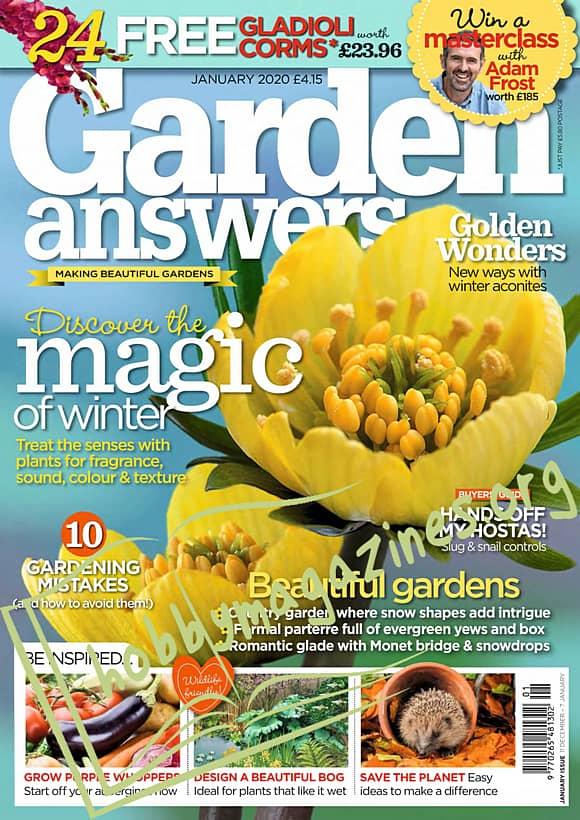 Garden Answers – January 2020