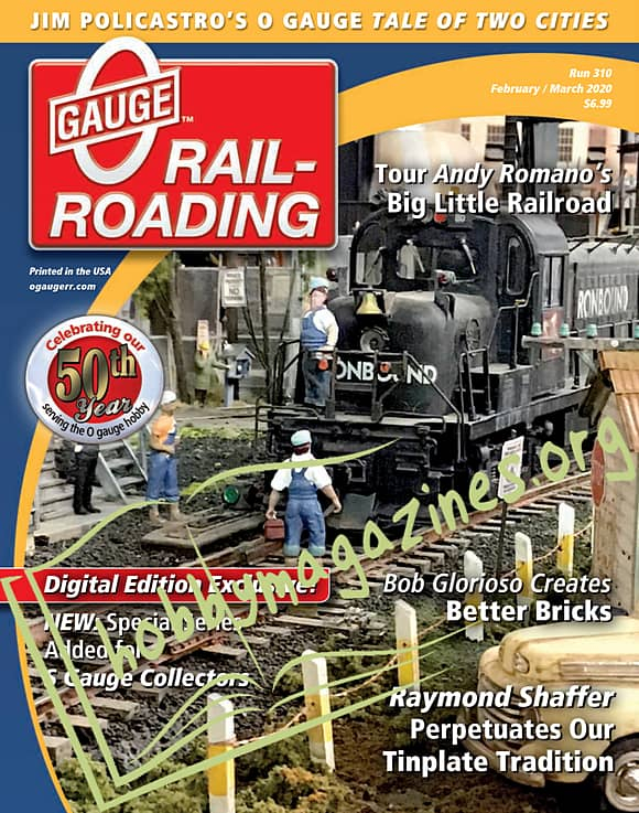 0 Gauge Railroading - February/March 2020
