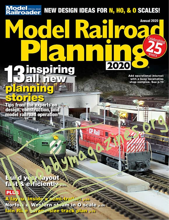 Model Railroader Special Issue - Model Railroad Planning 2020