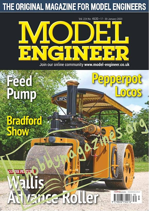 Model Engineer - 17-30 January 2020