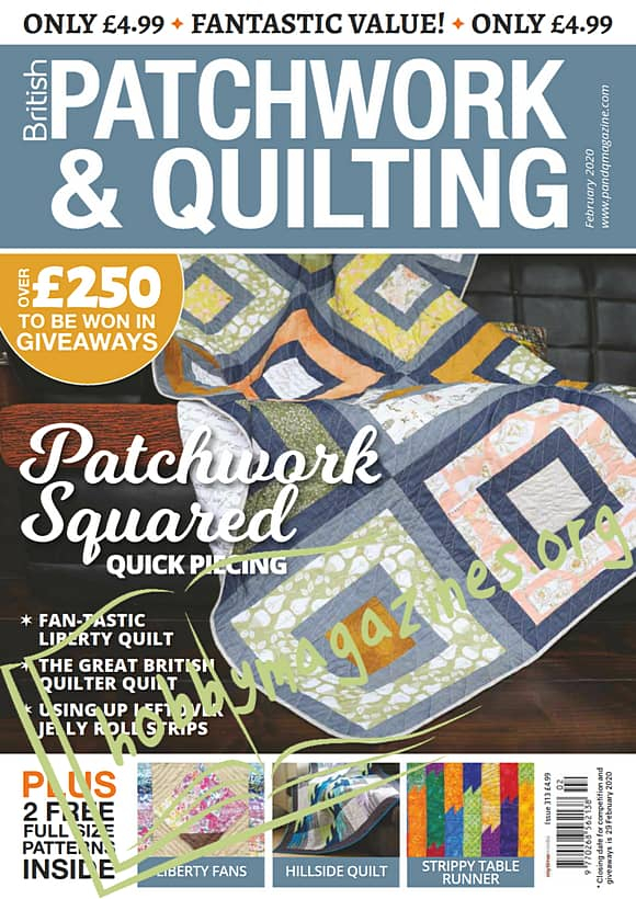 Patchwork & Quilting - February 2020