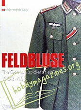 Feldbluse.The German solgier's field tunic 1933-45