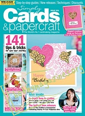 Simply Cards & Papercraft Issue 201