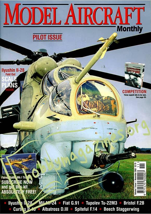 Model Aircraft Pilot Issue November 2001