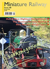 Miniature Railway - Spring 2020