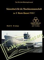 Skizzenbuch U-Boat Type VII C Project