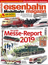 Eisenbahn Magazin Spezial Spielwarenmesse 2019