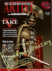 The Illustrated Historical Figure Artist Issue 1