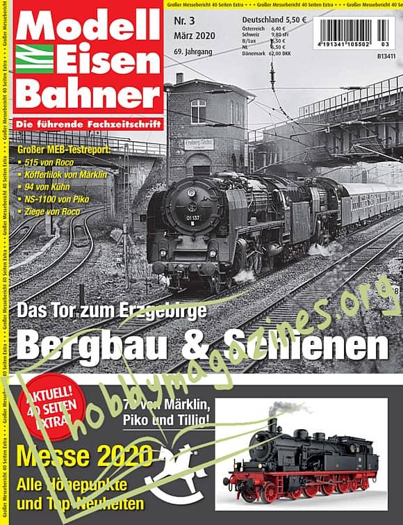 ModellEisenBahner - März 2020