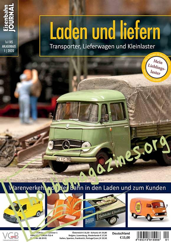 Eisenbahn Journal 1x1 des Anlagenbaus 2020-01