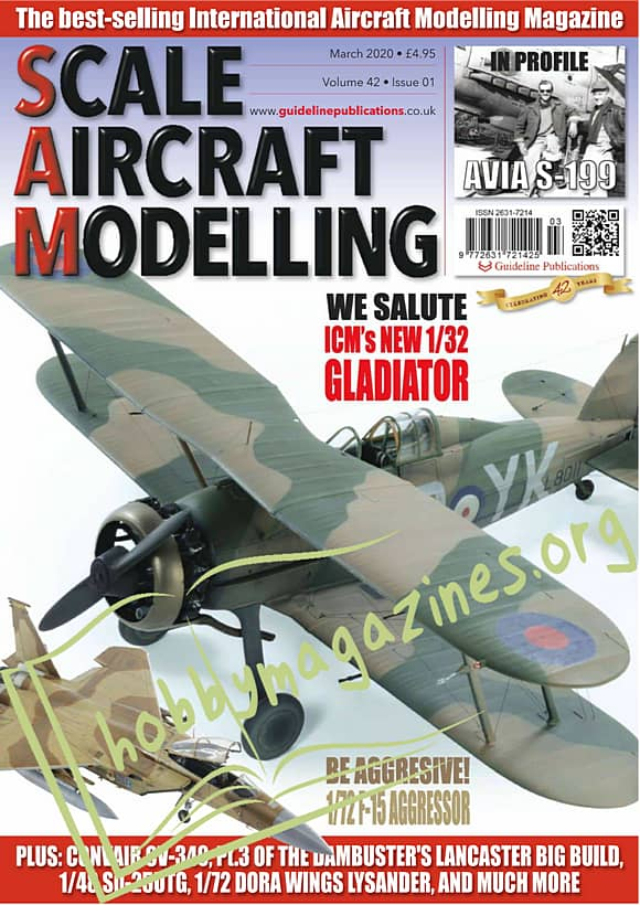 Scale Aircraft Modelling - March 2020