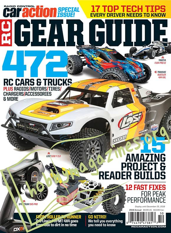 Radio Control Car Action Special - RC Gear Guide 2019