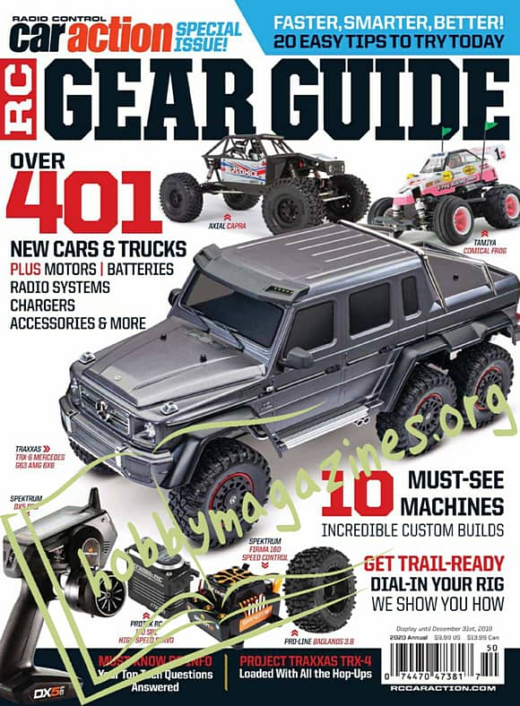 Radio Control car Action Special - RC Gear Guide 2020