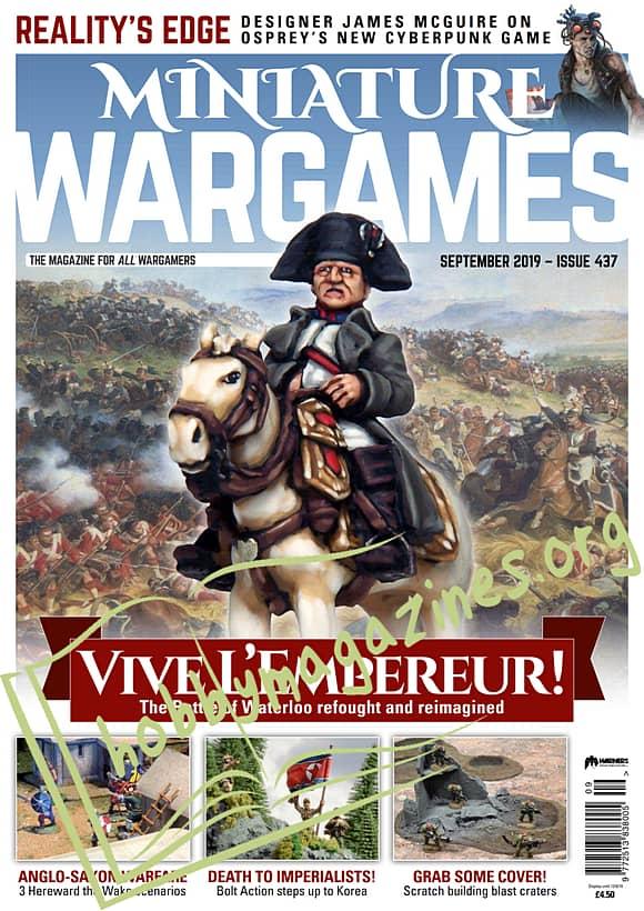 Miniature Wargames - September 2019