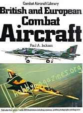 British and European Combat Aircraft
