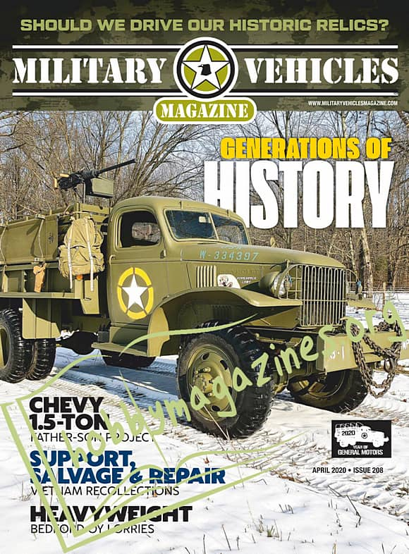 Military Vehicles – April 2020