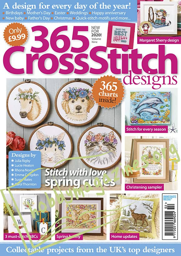 365 Cross Stitch Designs Volume 9, 2020