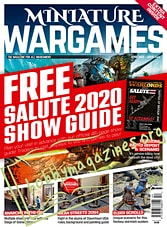 Miniature Wargames - April 2020