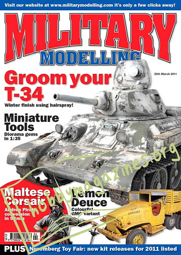 Military Modelling - March 2011