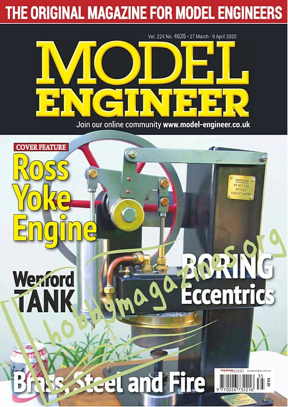 Model Engineer 4635 - 27 March 2020