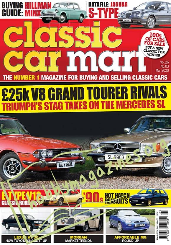 Classic Car Mart - March 2020