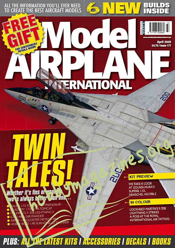 Model Airplane International - April 2020