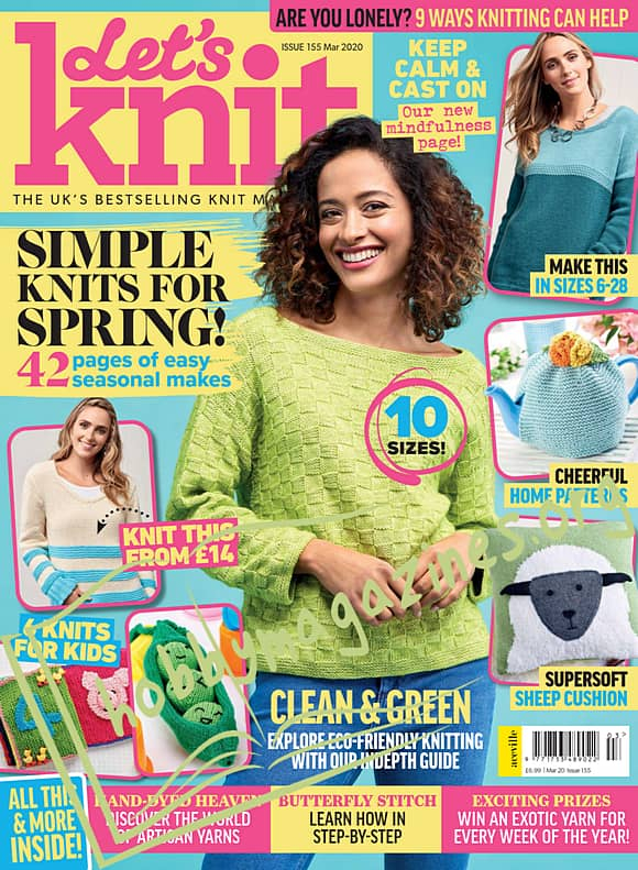 Let's Knit 155 - March 2020