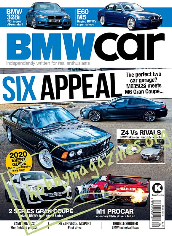 BMW Car - April 2020